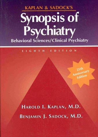 Download Kaplan and Sadock's synopsis of psychiatry