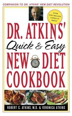Download Dr. Atkins' quick and easy new diet cookbook