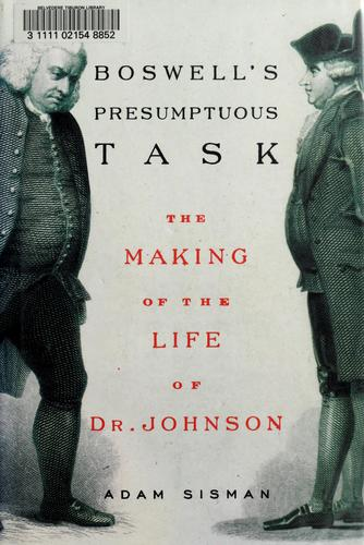 Download Boswell's presumptuous task