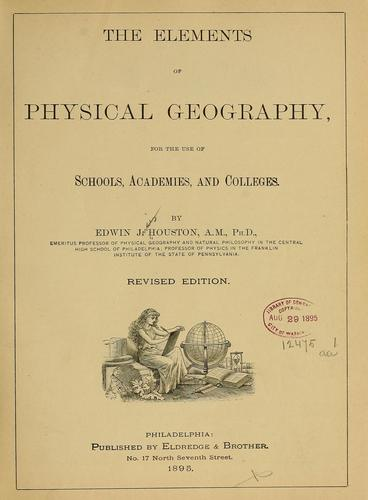 The elements of physical geography