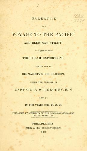 Narrative of a voyage to the Pacific and Beering's Strait, to co-operate with the polar expeditions