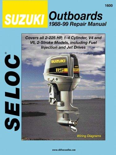 suzuki outboards  all 2 stroke engines  1988 03  seloc marine manuals  close