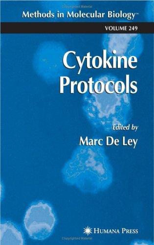 Cytokine Protocols Marc De Ley