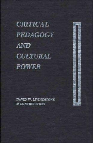 Download Critical pedagogy and cultural power