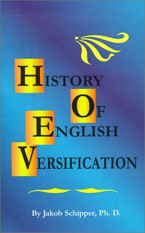 Download A History of English Versification