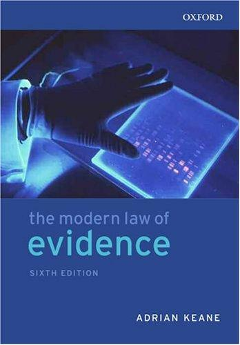 Download The modern law of evidence