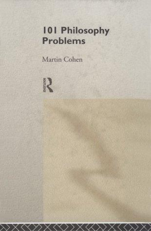 Download 101 philosophy problems