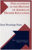 Download Philanthropy in the history of American higher education