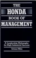 The Honda book of management