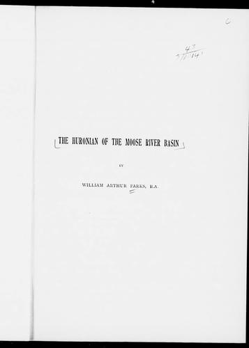 Download The Huronian of the Moose River basin