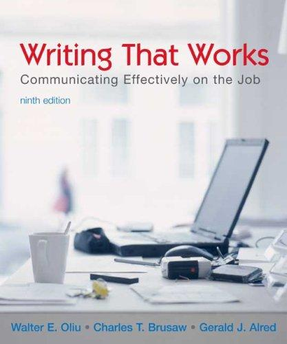 Download Writing that Works