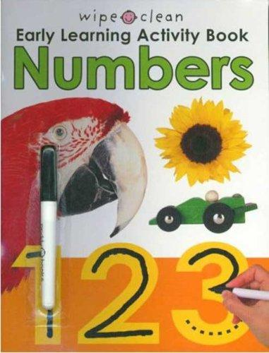 Download Wipe Clean Early Learning Activity Book – Numbers (Wipe Clean Early Learning Activity Book)