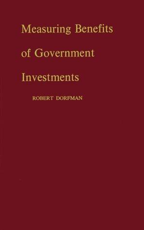 Download Measuring benefits of government investments
