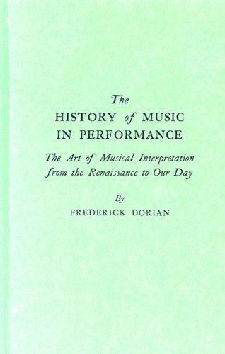 Download The history of music in performance
