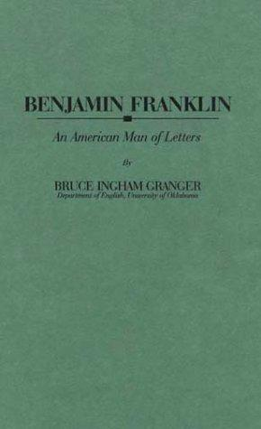 Download Benjamin Franklin, an American man of letters