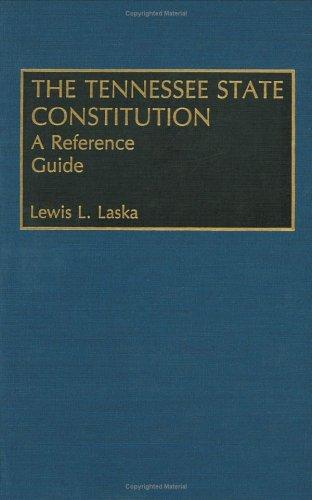 The Tennessee state Constitution (Open Library)