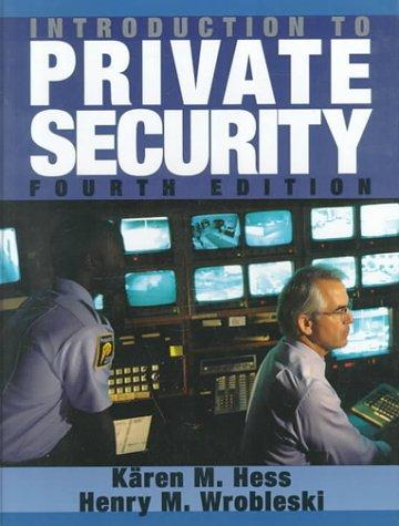 Download Introduction to private security