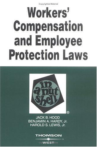 Download Workers' compensation and employee protection laws in a nutshell
