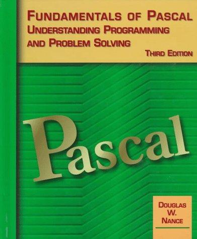 Fundamentals of Pascal