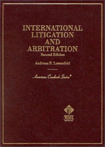 Download International litigation and arbitration