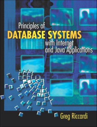 Download Principles of Database Systems with Internet and Java Applications