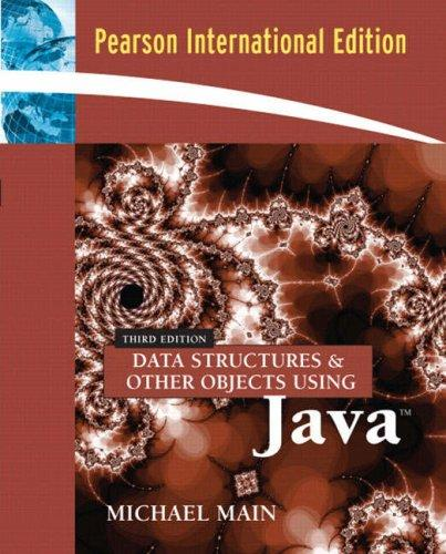 Download Data Structures & Other Objects Using Java