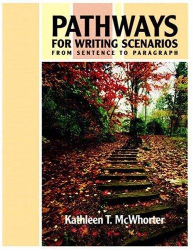 Download Pathways for Writing Scenarios