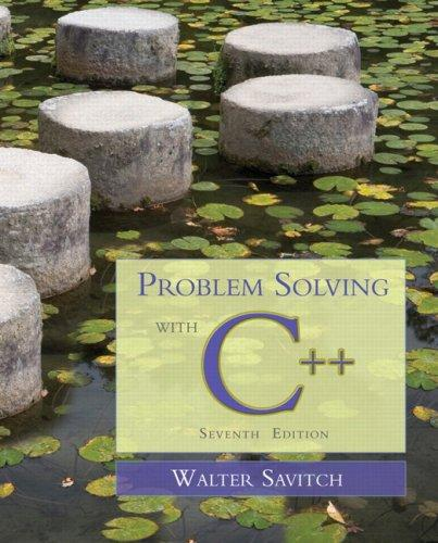 Download Problem Solving with C++ (7th Edition)