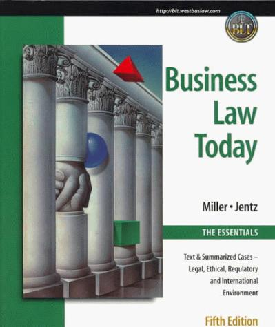 Download Business Law Today, The Essentials