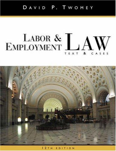 Download Labor & employment law