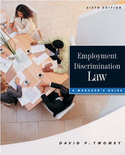 Download Employment discrimination law