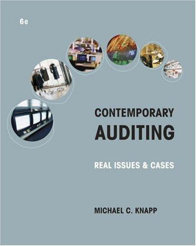 Download Contemporary Auditing