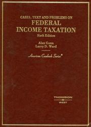 Cases, Text And Problems On Federal Income Taxation PDF Download