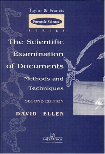 The scientific examination of documents