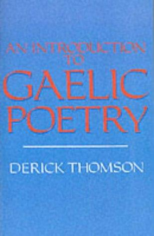 Download An introduction to Gaelic poetry