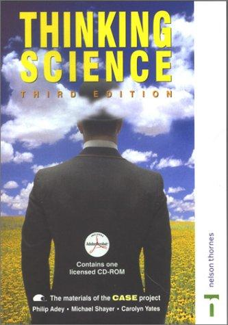 Download Thinking Science