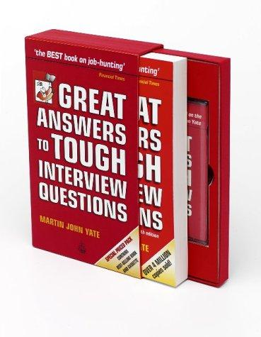 Great Answers to Tough Interview Questions (Book & Tape Slipcase Edition)
