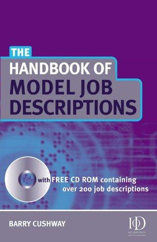 Download Handbook of Model Job Descriptions