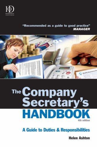 The Company Secretary's Handbook