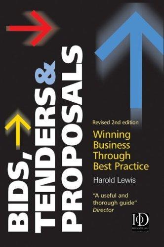 Bids, Tenders & Proposals
