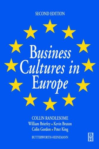 Download Business cultures in Europe