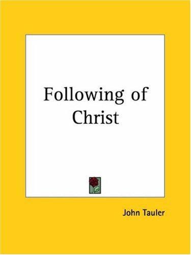 Following of Christ