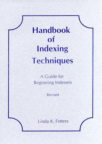 Handbook of Indexing Techniques