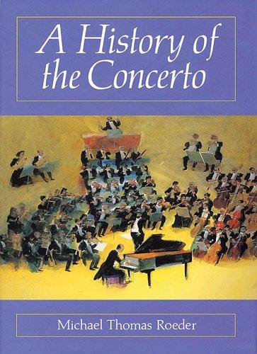 Download A History of the Concerto