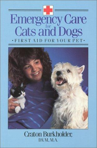Download Emergency care for cats and dogs
