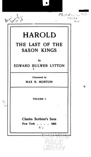 Download Harold, the last of the Saxon kings