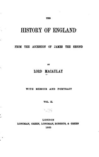 Download The  history of England