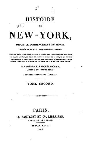 Download Histoire de New-York