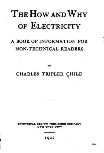 The how and why of electricity