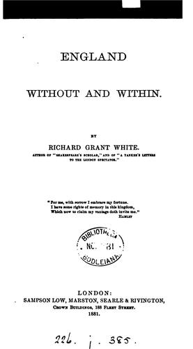 Download England without and within